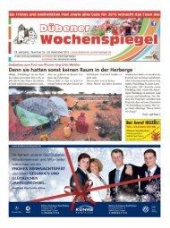 Dübener Wochenspiegel - Ausgabe 25 - 23-12_2015