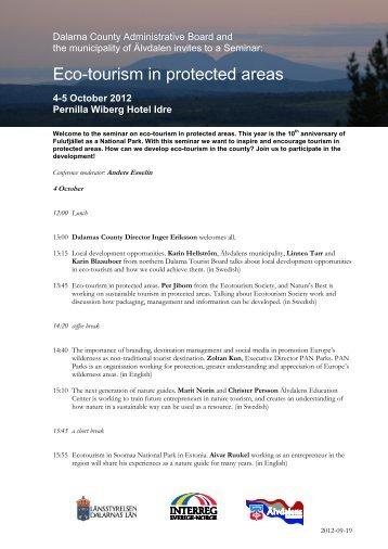 4-5 October 2012 Pernilla Wiberg Hotel Idre
