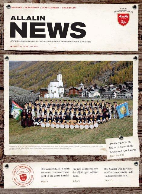 Allalin News Nr. 8/2018