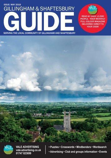 Gillingham & Shaftesbury Guide May 2018 PROOF