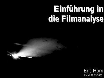 Einführung in die Filmanalyse - horn-netz.de