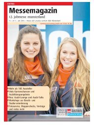 Der Messe-Guide zur 12. jobmesse münsterland