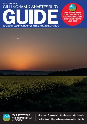 Gillingham & Shaftesbury Guide June 2018