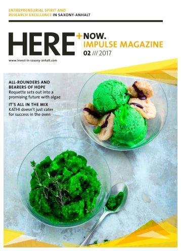 HERE+NOW.IMPULSE MAGAZINE /// 02/2017