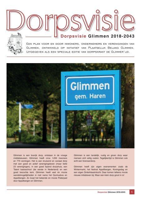 Dorpsvisie dorp Glimmen