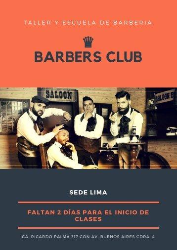 Barbers club
