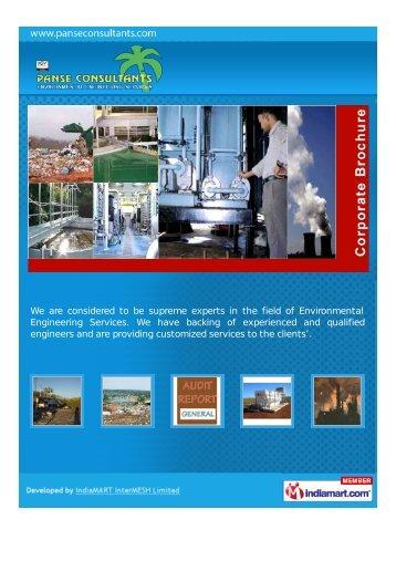 Panse Consultants, Pune, Pune - Service Provider of Environmental ...