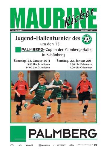 Maurine-Kicker 01/2011 - FC Schönberg 95