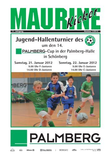 Maurine-Kicker 01/2012 - FC Schönberg 95