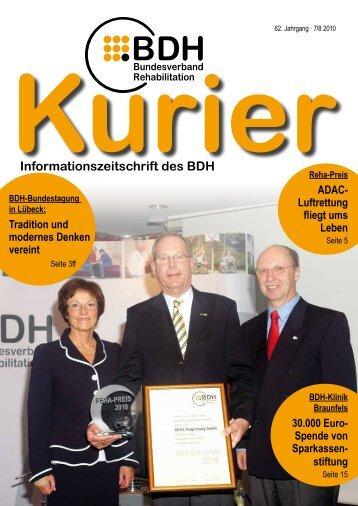 Ausgabe 7/8 2010 - BDH