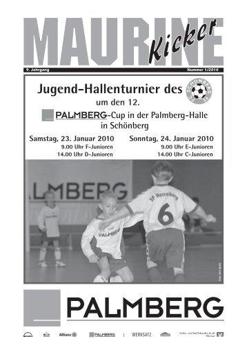 Jugend-Hallenturnier des - FC Schönberg 95
