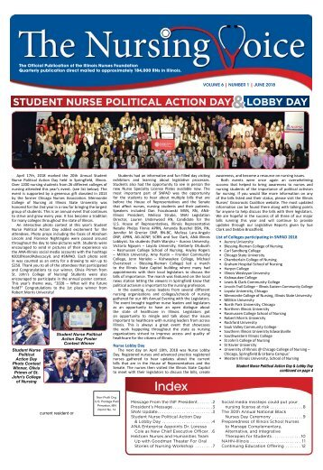 Illinois Nursing Voice - June 2018