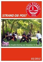 Vereinsnachrichten: Strand 08 Post - NTSV Strand 08 eV
