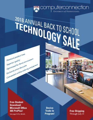 2018 Back To School Technology Sale