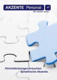 Personalleasing - Akzente Personalbereitstellungs GmbH