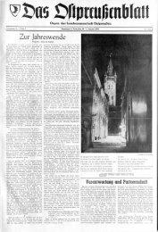 Kalender für 1964 - Archiv Preussische Allgemeine Zeitung