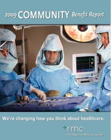 Community Benefit Report 2009 - SSL-DATA.COM