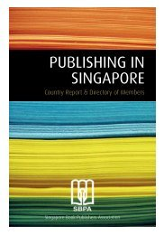 SBPA Directory of Members 2012 - Singapore Book Publishers ...
