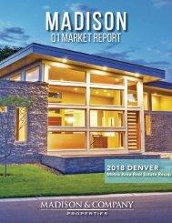 Madison Market Report Q1 2018