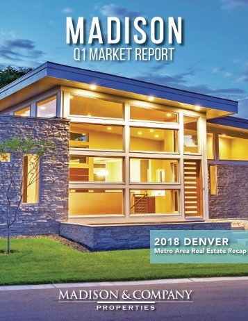 Madison Market Report Q1 2018