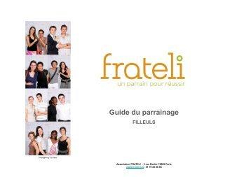 Guide du parrainage FILLEULS - Frateli