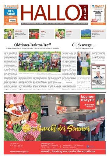 Hallo-Allgäu Memmingen vom Samstag, 09.Juni