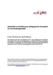 druckfassung - Landesjugendamt des Landes Brandenburg ...