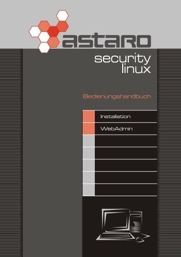 Handbuch für Astaro Security Linux V4