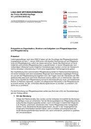 Eckpunkte zu Organisation, Struktur und Aufgaben von ...