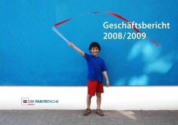 Geschäftsbericht 2008/2009 - Der Paritätische Berlin