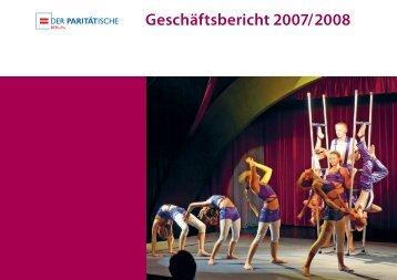 Geschäftsbericht 2007/2008 - Der Paritätische Berlin