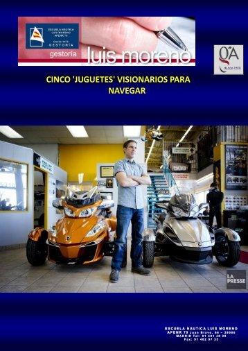 CINCO 'JUGUETES' VISIONARIOS PARA NAVEGAR - Nauta360