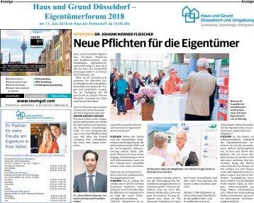 Haus und Grund Düsseldorf - Eigentümerforum 2018  -09.06.2018-