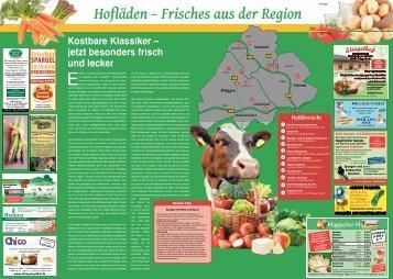 Hofläden - Frisches aus der Region  -09.06.2018-