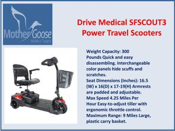 Power Travel Scooters for Sale in Syracuse