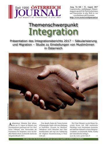 Österreich Journal Ausgabe 168