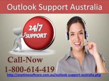 Outlook Support Australia 1-800-614-419 |Swift Service