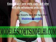 Sexy Escorts Babes Are Here || Delhi Call Girls