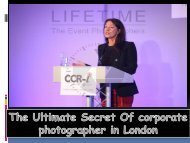 The Ultimate Secret Of corporate photographer in London