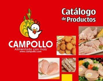 Catálogo de productos Campollo