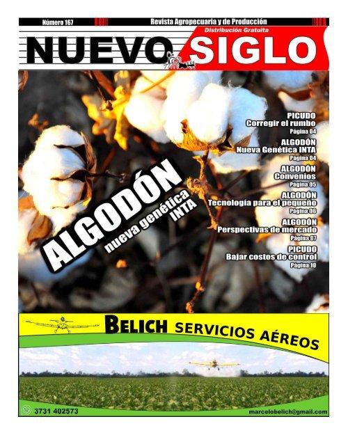 Revista Agropecuaria Nuevo Siglo Número 167 - MAYO 2018