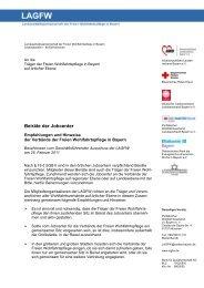 Beiräte der Jobcenter - LAGFW Bayern