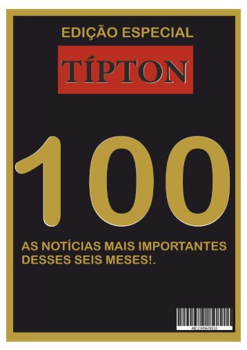 REVISTA TIPTON - EDIÇÃO ESPECIAL