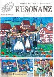 RESONANZ INTERKULTUR WISSENSMAGAZIN 06|2018