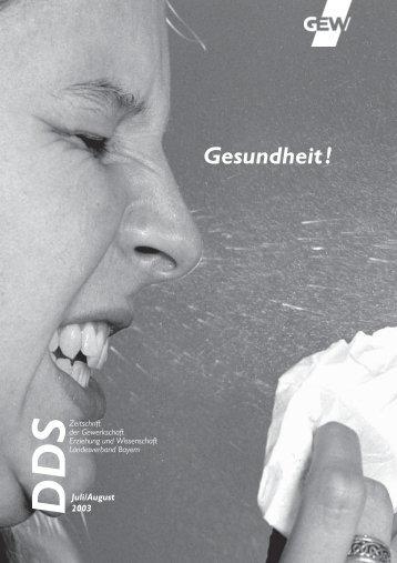 DDS - GEW Landesverband Bayern