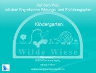 Präsentation_Kindergarten Wilde Wiese - IFP - Bayern