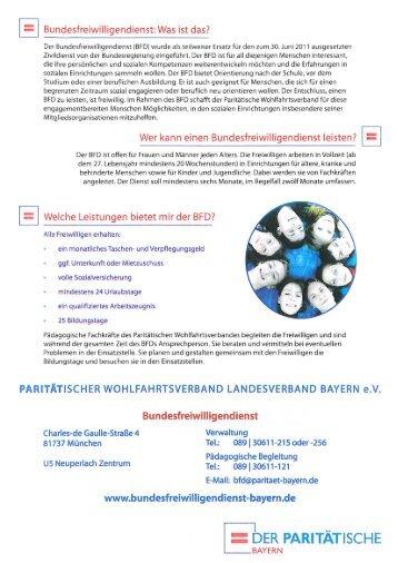 Der Paritatische Wohlfahrtsverband In Bayern Ein Geschichtlicher
