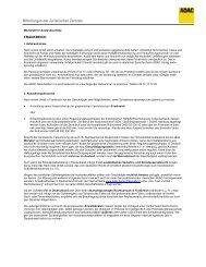 Mitteilungen der Juristischen Zentrale - ADAC