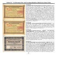 Auktion 64 – Versicherungen, Bau- und Terraingesellschaften ...