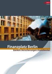 Finanzplatz Berlin - Berlin Partner GmbH